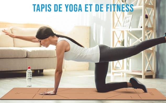 Tapis de Yoga KAIZENLY Pro Liège Naturel