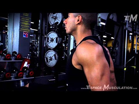 Dips entre deux Bancs - Exercice de Musculation Triceps - EspaceMusculation - Nassim Sahili